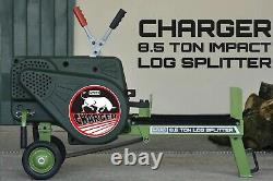 Portek Chargeur 8.5 Ton Log Splitter Impact Mains Electric Logs Cutting Wood