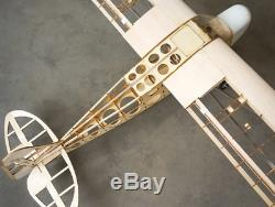 Rc Avions Piper Cub J3 Envergure Balsa Laser Cut Pour L'avion Adultes