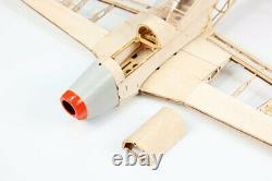 Rc Balsa Wood Plane Laser Cut Airplane Model P51 Kit Wingspan 1000mm Mis À Jour