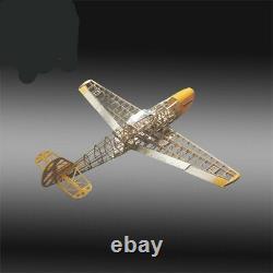 Rc Plane Laser Cut Balsa Wood Airplane Model Building Kit + Hardware Parts Jouet