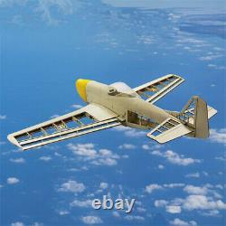 Rc Plane Laser Cut Balsa Wood Airplane Modèle P51 Kit Hardware Accessories Skin