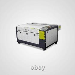 Rdworks Reci 100w Co2 Laser Gravure Et Machine De Coupe 600mm400mm Moteur Z