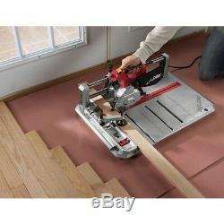 Revêtement De Sol Corded Scie 4-3 / 8 Po. Skil 7.0 Amp Bois Cross Floor Mitre Cut Rip Clôture