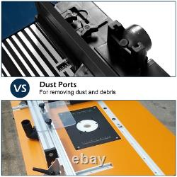 Routage Électrique De Table De Routeur En Aluminium Outil De Travail De Bois Banc Artisan Outil