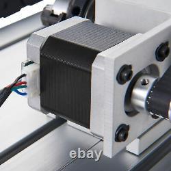 Routeur Cnc 4 Axis Machine De Découpe De Gravure Avec Port Usb Pour Le Bois Et Plus