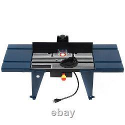 Routeur Électrique En Aluminium Table Wood Working Craftsman Tool Benchtop