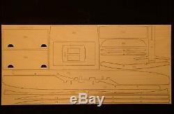 Royal Cessna 500 Laser Cut Kit Court, Plans Et Instructions, 67 Ws, S'il Vous Plaît Lire