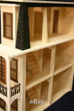 Saint Charles 1 Pouce Échelle Dollhouse Kit Laser Cut