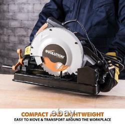Sciage De Chop Acier De Coupe Multi-usages En Plastique De Bois D'aluminium 10 Amp 7-1/4 En