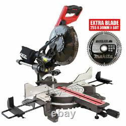 Sciage Excel Mitre 10 Composite Coulissant 2000w Double Coupe Biseau Laser Avec Lame 60t
