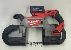 Scie À Bande À Coupe Profonde Li-ion Fuel Milwaukee M18 (bt) 2729-20 Nouveau