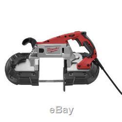 Scie À Bande À Vitesse Variable Portable Deep Cut De Milwaukee 6232-20 Nouveau