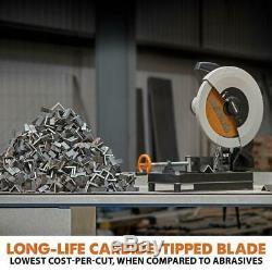 Scie À Découper Polyvalente 14 Po Outil De Coupe En Aluminium En Acier Au Bois