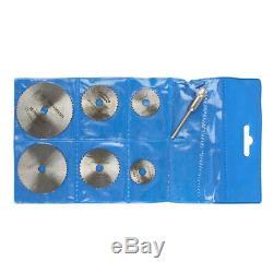 Scie Circulaire Disc Set Dremel Accessoires Mini Drill Outil Rotatif En Bois Lame