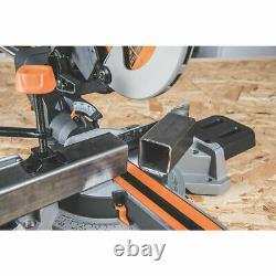 Sliding Mitre Saw Compound Electric 240v Single Bevel Chop Cut 185mm Evolution