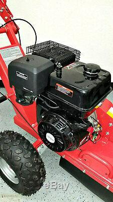 Stump Grinder 15hp Marche De Gaz Derrière Bois Cut 420cc 3600 RPM 12 Roue De Coupe Nouveau
