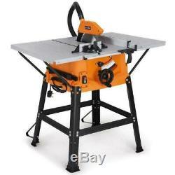 Table Banc Scie Circulaire Mitre Outil Bricolage Lame Coupe En Bois Mdf 1800w Pince De Table