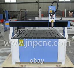 Table T-fente De 12001200mm De Haute Qualité 2.2 Kw Petit Bois Cnc Mdf Machine De Découpe