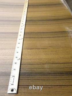 Teck Quarter Placage En Bois Coupé 48 X 96 Avec Support Papier Épaisseur 1/40 A Grade