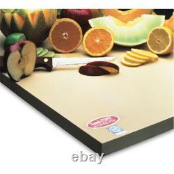 Teknor-apex Cutting Board Sani-tuff (rubber) 15 X 20 X 1/2 Épaisseur