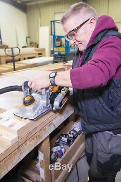 Triton 1500w Triple Lame Raboteuses Menuiserie Bois Cut Scier Power Tool Nouveau