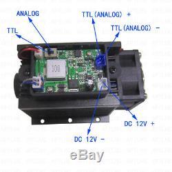 Ttl Et Analogique 12w Laser Tête Gravure Module De Marquage En Métal Bois De Coupe Graveuse
