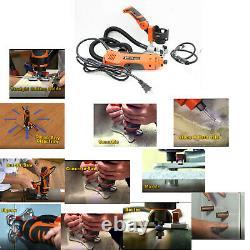 Twist Électrique Multi-trimmer Bois Routeur Stratifié Rotary Grinder Jigsaw Coupe Scie