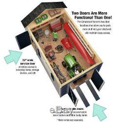 USA Qualité 8' X 14' + Hangar De Stockage Plancher Kit Garantie Prédécoupé 15 Ans