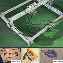 Us 65x50cm Machine De Gravure Laser Diy Kit Sculpture Coupe En Bois D'imprimante De Bureau