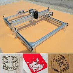 Us Machine De Gravure Laser 40x50cm Bricolage Logo Coupe 500mw Marquage Bois Imprimante