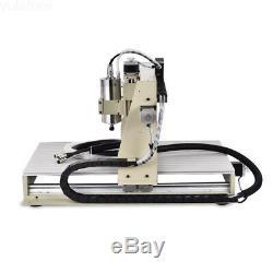 Usb 3 Axis 6040z Cnc Gravure Miller Machine À Couper Du Bois Vis À Billes Dsp Router