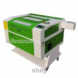 Usb Reci 100w Co2 Découpe Laser Machine De Gravure Motoriser Table 700mm500mm