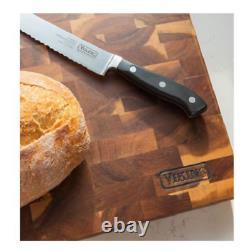 Viking, End-grain Acacia Wood Professional Serving Cutting Board Butcher Block