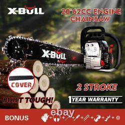 X-bull 62cc Trinuaw À 82cc Engine À Barres À Barres À Barres À 2 Cycles